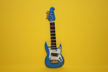 E-Gitarre blau
