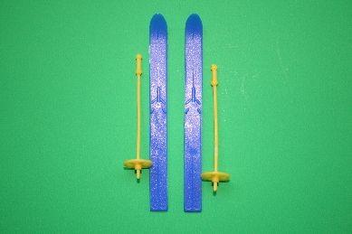Skier, Kunststoff, blau