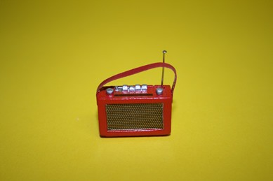 Kofferradio rot