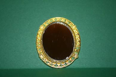 "Spiegel ""gold"", oval"