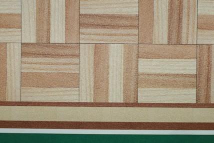 Parkett-Tapete, hell, Mosaik-Muster, jetzt ohne Randabschluss, 1