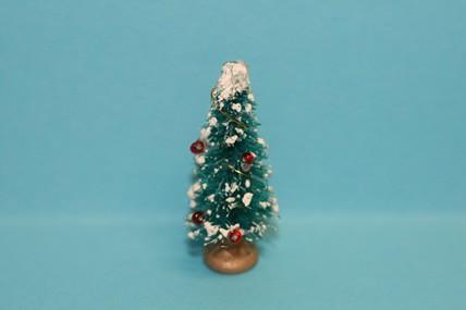 Mini-Weihnachtsbaum dekoriert, 1:12