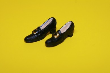 Pumps, schwarz, Resin