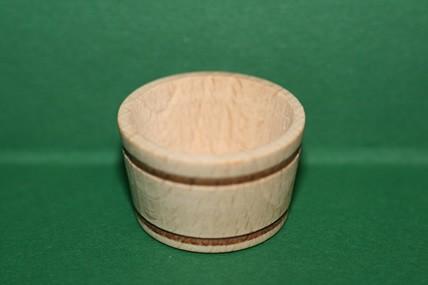Holzkübel ohne Griffe, natur