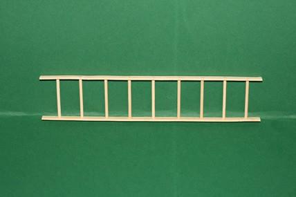 Holzleiter, 8 Sprossen