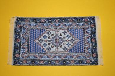 Mini-Teppich, blau