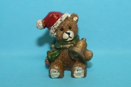 Weihnachtsbär, Keramik, 1:12