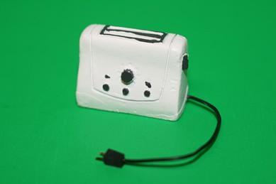 Toaster mit Kabel u.Stecker, Resin