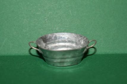 Wanne oval, Zink-Blech, 1:12