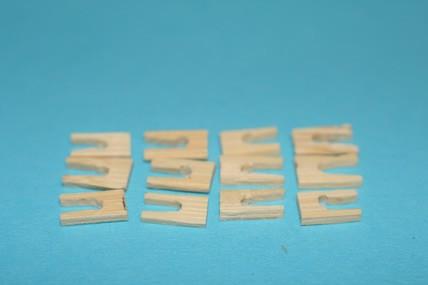 Wäscheklammern - 12 Stück, 1:12