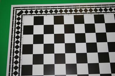 Fliesentapete, schwarz/weiß, starke Qualität