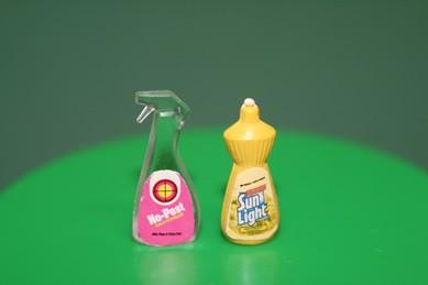 Putz- und Spülmittel, Kunststoff