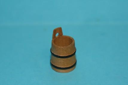Butter-Fass, Holz, 1:12