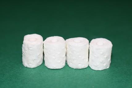 Toilettenpapier - 4 Rollen, 1:12