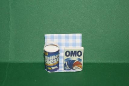 Waschmittel Weißer Riese/OMO, 1:12