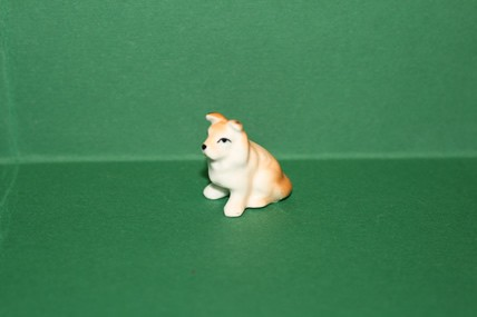 Hund 2, Porzellan