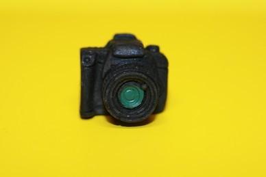 Kamera, schwarz, Resin