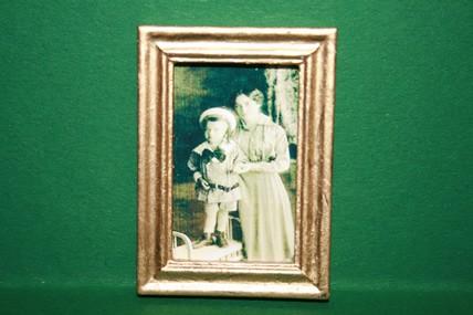 """""""Mutter und Kind"""", Goldrahmen"""