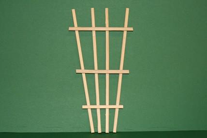 Rankengitter, Holz