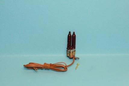 Flackerlicht 12V, passend zu den Feuerstellen