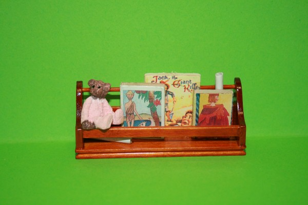 Bücherregal Holz braun