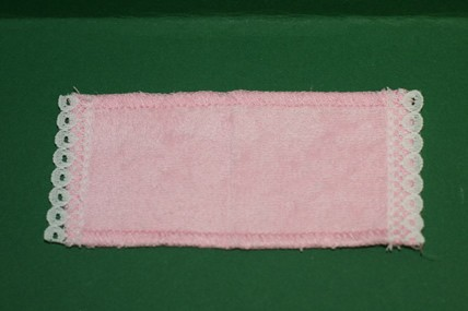 Badewannenvorleger rosa, 1:12