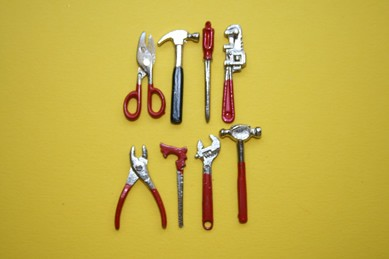 Werkzeug, 8-teilig, 1:12