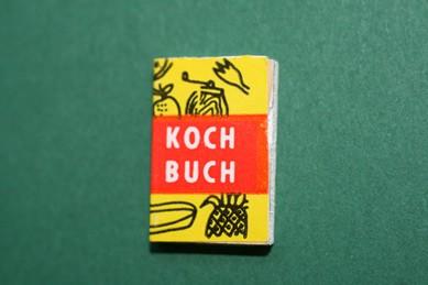 Kochbuch, Holz