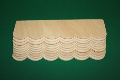 Dachschindel-Streifen - 10 Stück