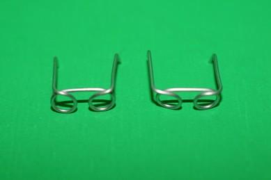 Brillen, Metall silberfarben - 2 Stück