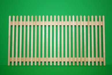 Gartenzaun, Holz