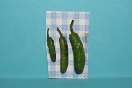 Zucchini - 3 Stück, 1:12