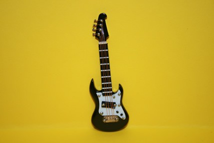 E-Gitarre schwarz