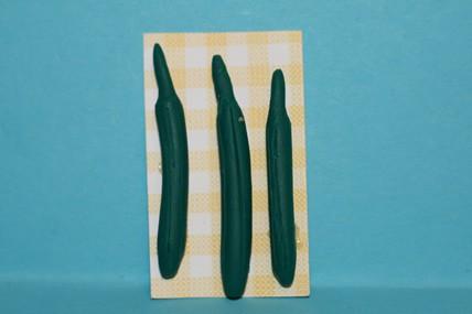 Salatgurken - 3 Stück, 1:12