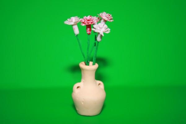 Miniatur flieder/rosa 1:12