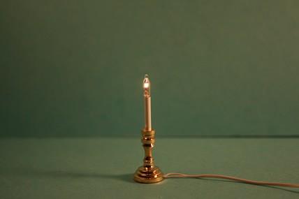Kerzenleuchter, Messing, 1:12