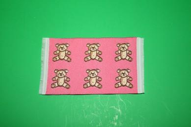 """Mini-Teppich """"Teddys"""", rosa"""