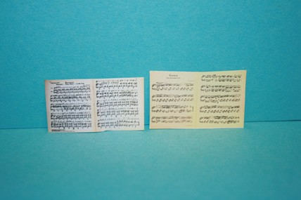 Notenblätter (Carmen), 1:12