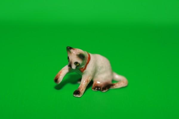 Miniatur Katze Pfoten hoch 1:12