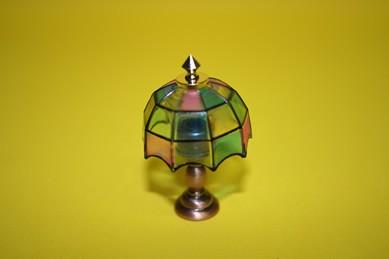 Tiffany Tischlampe - ohne Beleuchtung