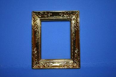 Goldrahmen, glänzend