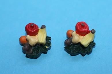 Mini Obst- und Gemüse - 2 Stück