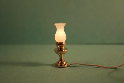Tischlampe, Messing, 1:12
